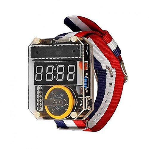 SainSmart neue elektronische Kristalltabelle LED Uhr-Installationssatz DIY Uhr für Arduino Benutzer