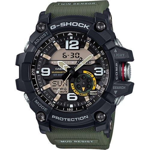 Casio orologio analogico-digitale uomo con cinturino in resina gg-1000-1a3er