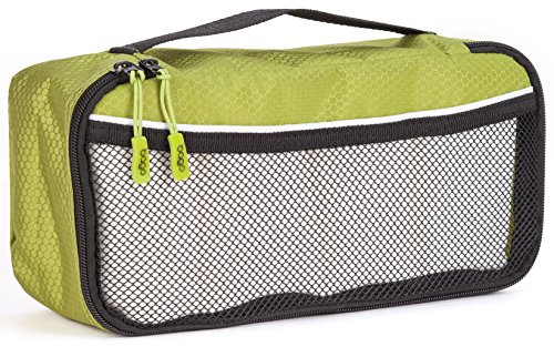 packing-cube-for-travel-luggage-organizers-slim-size-bago-cube-slim-green
