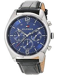 Tommy Hilfiger Herren-Armbanduhr Analog Quarz Leder 1791182