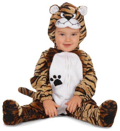 Baby Tiger Kostüme (Süßes Kostüm Kleiner Tiger 80/86 Für Babys (Overall Und)