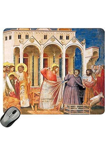 ('Mousepad Jesus vertreibt die Händler aus dem Tempel)