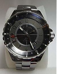 Chanel J12 Chromatic GMT Automatic Charcoal Titanium Ceramic Watch H3099