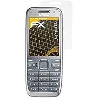 3 x atFoliX Película Protectora Nokia E52 Lámina Protectora de Pantalla - FX-Antireflex anti-reflectante