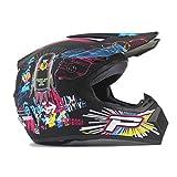 Off Road Motorradhelm Erwachsener Motocross Helm ATV Dirt Bike Downhill MTB Racing Helm Cross Helm