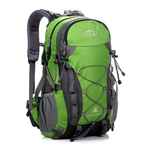 Männer Und Frauen Reisen Rucksack Sport Schulter Tasche Green