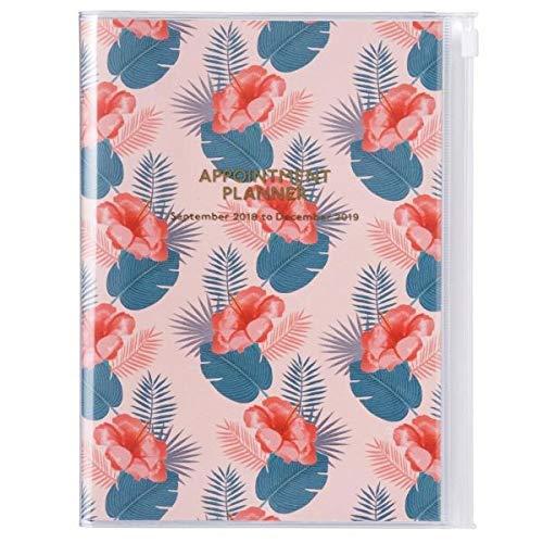 MARK'S 2019 Taschenkalender A5 vertikal, Wild Pattern Flower