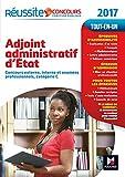 Concours Adjoint Administratif - Tout-en-un - Réussite Concours Nº5 - 2017...