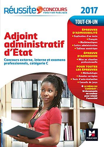 Concours Adjoint Administratif d'Etat - Tout-en-un - Réussite Concours Nº5 - 2017