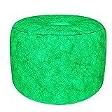 7even LED-Hocker 60cm Durchmesser | individuelle Farbeinstellung | aufblasbares Sessel Kissen inkl. Pumpe + Fernbedienung + Bedienungsanleitung