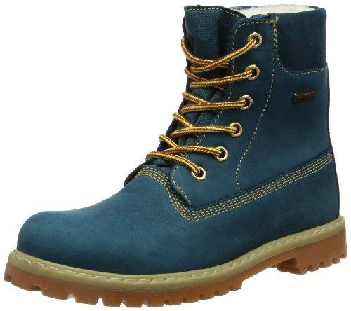 Däumling Timmy St - Andi - Aspen, Unisex-Kinder Kurzschaft Stiefel, Blau (Denver petrol 50), 41 EU