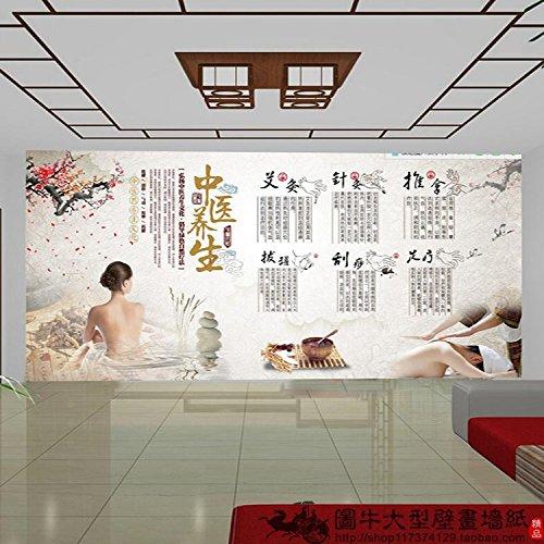 Aolomp Wallpaper die Chinesische Medizin Praktiker wird das Thema basic Massage Therapie, Massage Salon Hintergrund Wallpaper Wallpaper wellness center große Wandmalereien
