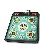 wly&home Single Dance Pad/Tanz Pad Wii/Computer / TV Dual-Verwendung, Familie Gewichtsverlust Tanzteppich Tanz/Tanz Matte Erwachsene/Kinder verwenden, 5/5000 grēn Grün