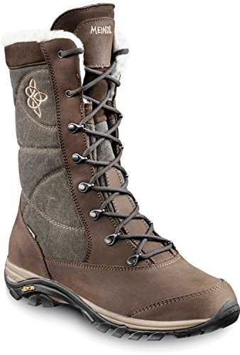 Meindl gefütterte Winterstiefel FONTANELLA LADY GTX Gore-Tex braun, Meindl Schuhe:UK 7.5 / 41.5 (Comfort Leder Walker)
