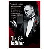 PRINTELLIGENT Godfather Movie Paper Poster (Multicolour)