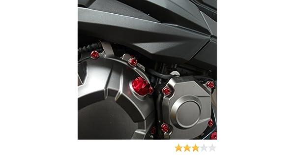 Kit Visserie moteur Z1000 10 Rouge