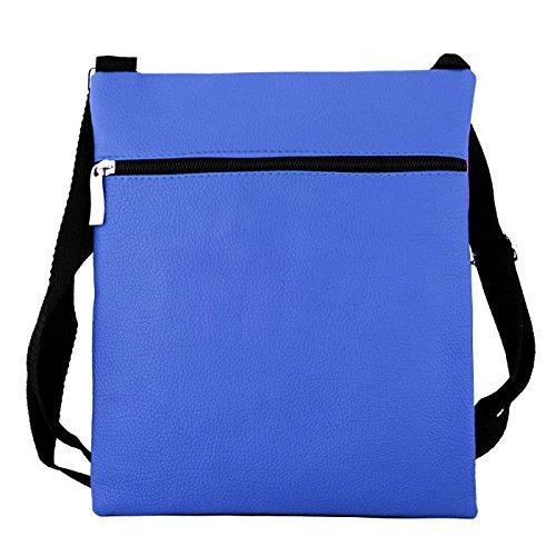 Glamexx24 Borsa a tracolla borsa a spalla o per mano in diversi motivi e colori BluRosaLila