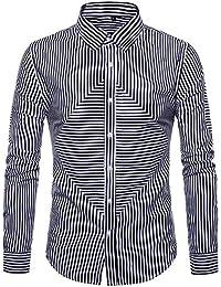 Freizeit F/ür Oktoberfest Business Trachten Herren Hemd Trachtenhemd Langarmhemd Freizeithemd Baumwolle Tarnung Print Hohe Qualit/ät Tops