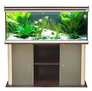 Aquatlantis - Aquarium + Meuble - Evasion 120 X 60 - Wenge