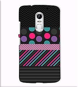 Fuson Designer Back Case Cover for Lenovo Vibe X3 (Black designer theme)