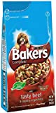 Bakers Complete Dog Food Tender Meaty Chunks Tasty Beef and Country Vegetables, 5 kg