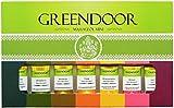 TESTER: Greendoor Massageöl Set Sortiment Minis im Geschenkkarton, 100% Natur, 7x25ml=175ml bestes Massage-Erlebnis, reine Naturkosmetik BIO Öle, beliebtes Geschenk...