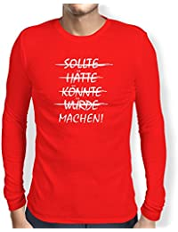 TEXLAB - Machen! - Herren Langarm T-Shirt