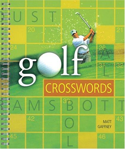 GOLF CROSSWORDS por Matt Gaffney