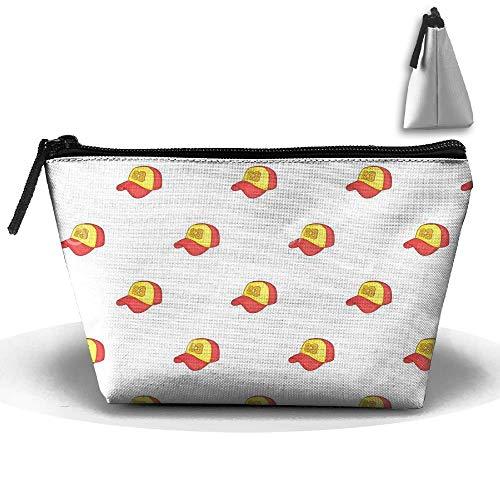 Sports Baseball Cap Personality Portable Women Trapezoid Travel Bag Cosmetic Bag Receive Bag Baseball-cap-tool