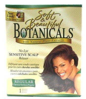 Soft & Beautiful Botanicals Relaxer Kit Regular