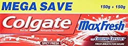 Colgate Toothpaste Maxfresh Spicy Fresh - 300 g (Red Gel - Saver Pack)