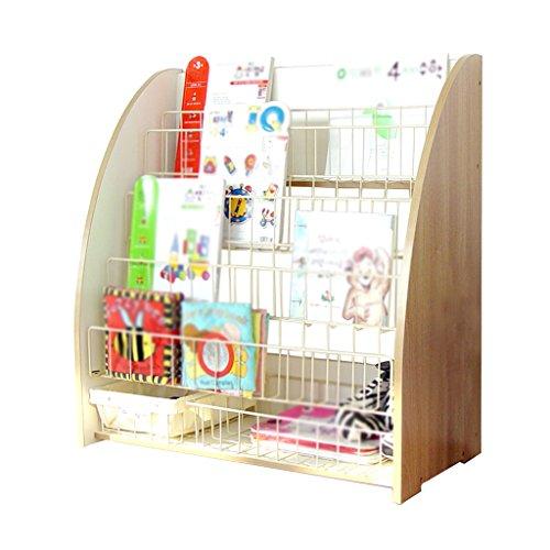 BSNOWF-étagère à livres Bibliothèque en bois Art enfants livre photo étagère étagère chambre maternelle