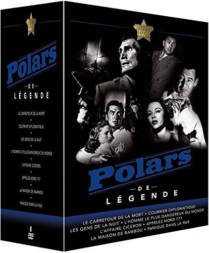 Coffret polars de légende 8 films [FR Import]