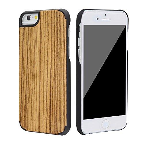 """SunSmart Housses classique en bois iPhone 6 Plus Housse en bois naturel de protection pour iPhone Plus 5.5""""-26 36"""
