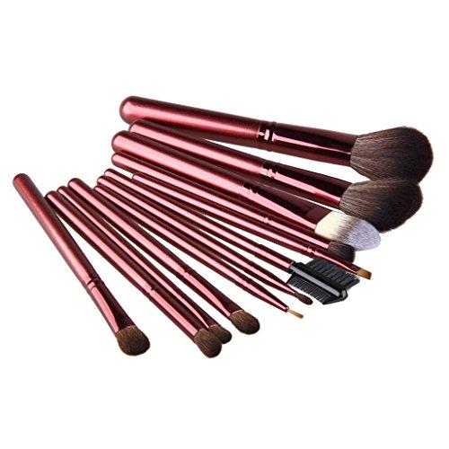 Gesicht Pinsel, Yogogo 12Pcs Kosmetische Bürste Make-up Pinsel Sets Kits Werkzeuge