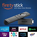 Amazon Fire TV Stick with Alexa Voice Remote | Streaming Media Player, Black
