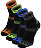 Thermoactive calcetines – 4 pares – Running, ciclismo, color gris, tamaño 39-42