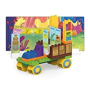 BIOBUDDI Swampies BB-0157 Juguete de construcción - Juguetes de construcción (Juego de construcción, Multicolor, 1,5 año(s), 44 Pieza(s), Niño/niña, Niños)