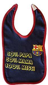 Bavoir bébé Barça - Lionel MESSI - Collection officielle FC Barcelone [Divers]