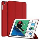 JETech Funda para Nuevo iPad 9.7 2017 Carcasa Case (Apple New iPad 2017) Auto-Aueño/Estela (Rojo)
