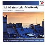 Saint-Saëns - Lalo : Concertos pour violoncelle - Tchaikosky : Variations sur un thème rococo