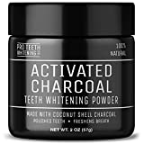 Activated Charcoal Teeth Whitening Powder with Stain Removing Formula - 100% Natural and Vegan Friendly - Peppermint Flavor - Made in The UK by Pro Teeth Whitening Co.