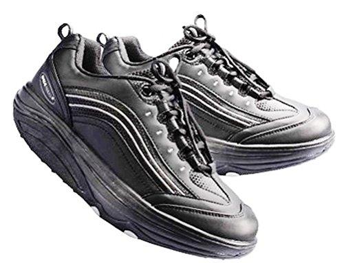 Chaussures Minceur Balancing Shoes Basket Tonifiante - Fitness, tonique / T 38 NOIR