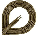 Ladeheid Qualitäts-Schnürsenkel aus Polyester KA9002 (Oliv, XXL)