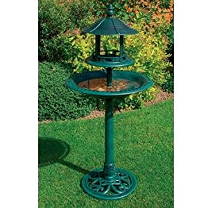 Garden Ornamental Wild Bird Bath/table Feeding Station