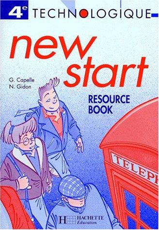 New Start, 4e technologique. Cahier de travaux dirigés