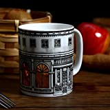 The mug is crafted in high-quality ceramic for durability Perfect for espresso, double espresso, macchiato, café con panna, Juice drink Great gift At Christmas for secret Santa, birthdays and other special occasions. Perfect for picky and precise col...