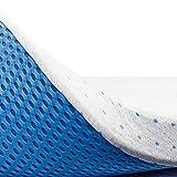 ViscoSoft Visco Premium Matratzenauflage, 7,5 cm, Memory-Schaumstoff, sehr hohe Dichte 60 kg/m3, Bezug aus Bambus, abnehmbar, verstellbar und waschbar, 90 x 200 cm