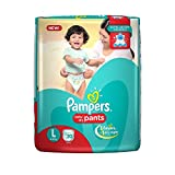 #4: Pampers New Large Size Diapers Pants (20 Count)