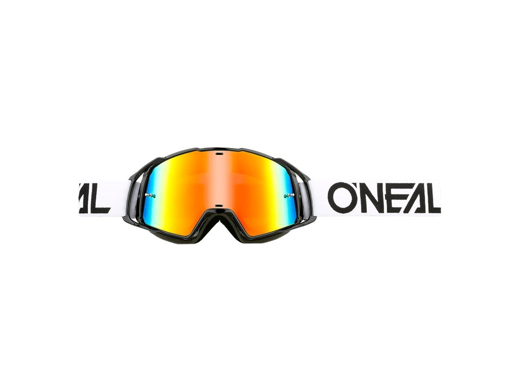 Oneal b-20 piatto Radium motocross,, Hi-Viz Blue